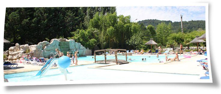Camping 4 toiles avec piscine chauff e au bord de l Camping ardeche 3 etoiles avec piscine