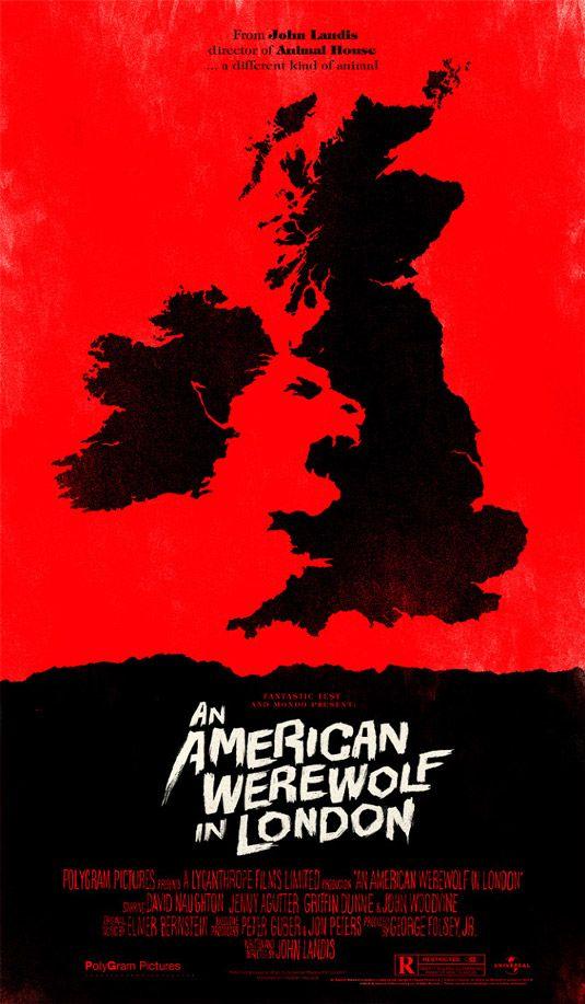 An American Werewolf in London - Negative space in art