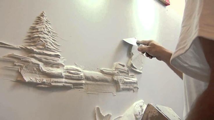 Amazing Drywall Art Sculpture