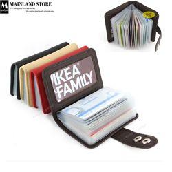 MKB1001 genuine leather credit card holder $10.50