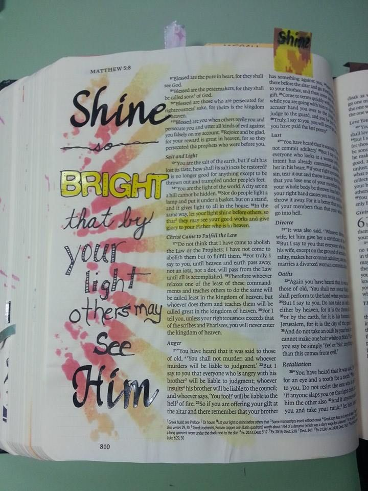 Created by: Katie Griffith Goodale‎, bible journaling, Journaling Bible, Art Bible, Margin bible journaling.