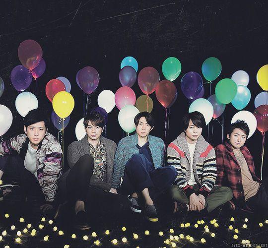 Arashi: the five-coloured rainbow of positiveness!