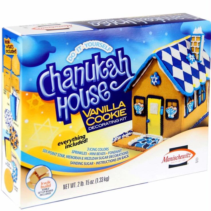 Manischewitz Chanukah House Decorating Kit - Repin to WIN