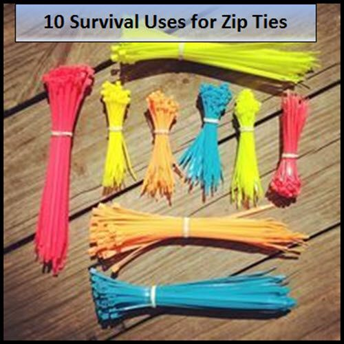10 Survival Uses For Zip Ties | http://homestead-and-survival.com/10-survival-uses-for-zip-ties/