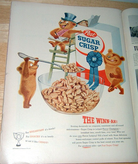 17 Best Images About Cereal Boxes & Ads On Pinterest