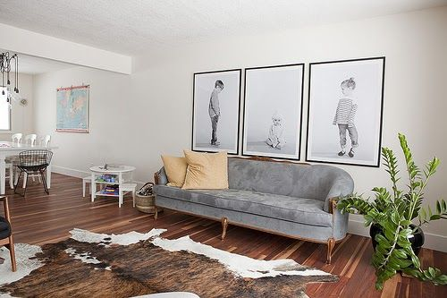 I've always wanted to do this, have mega large portraits of my kids in my house