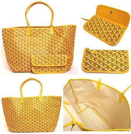 Most low-key luxury big dans fashion goyard-yellow-st-louis-tote