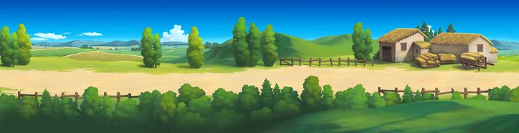 2d game background resource by painterhoya cartoon - 2d nature wallpapers ...