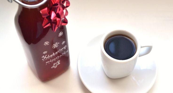 Mézeskalácsos kávészirup recept | APRÓSÉF.HU - receptek képekkel