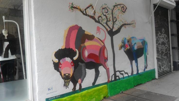 Grafitti. Greenwich Village, NY