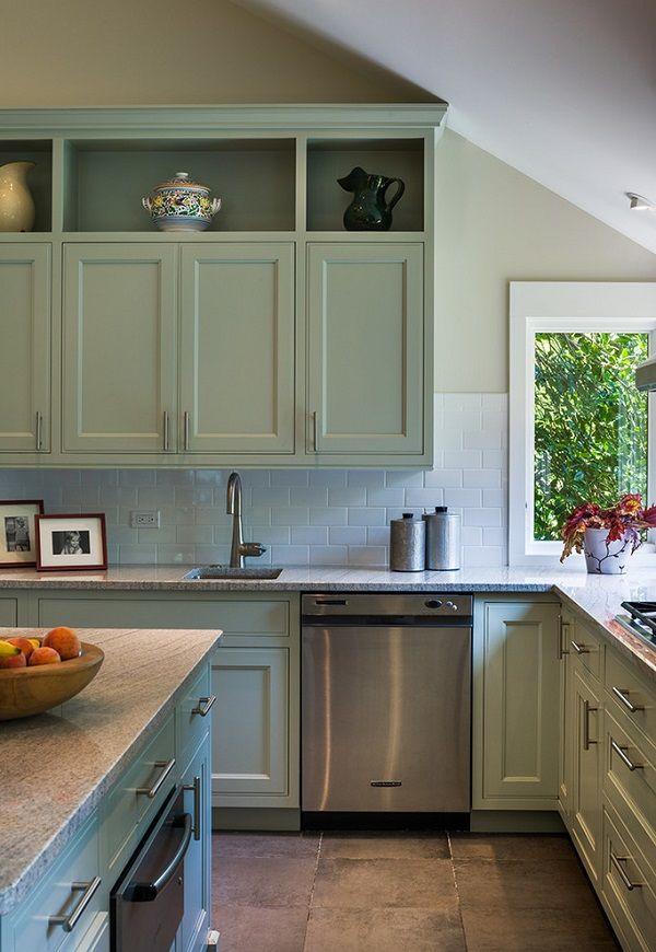 20 Best Dark and Light Green Kitchen Cabinet Ideas for 2019 ...