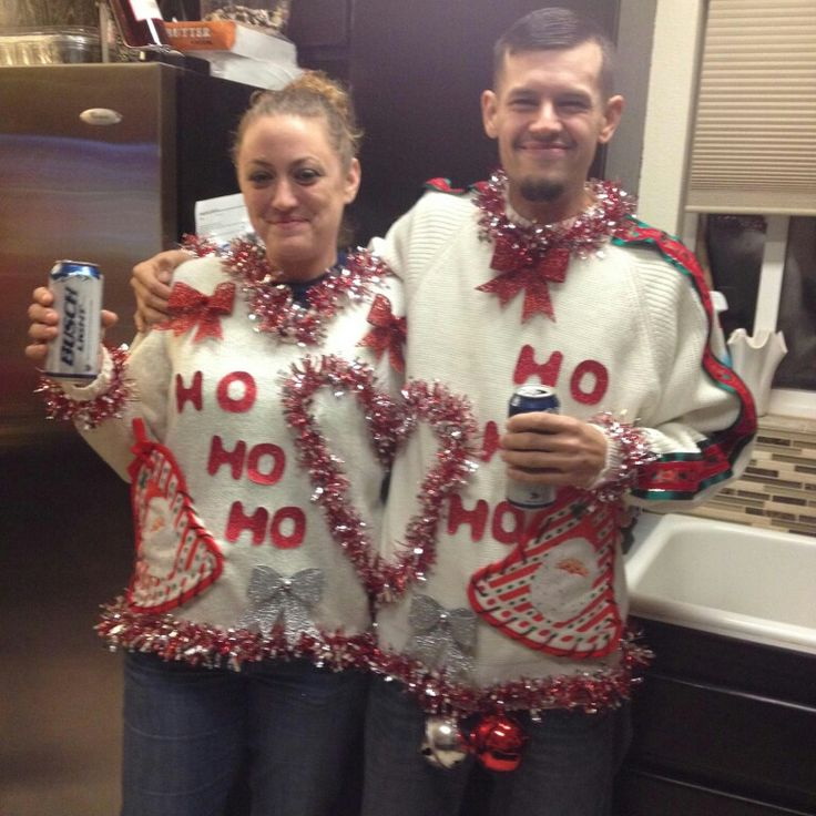 Ugly sweaters for couples