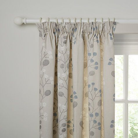 Buy John Lewis Seedlings Lined Pencil Pleat Curtains Online At Johnlewis Dining Room