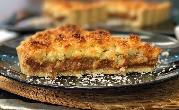 Torta de Doce de Leite com Coco | Tortas e bolos | Mais Você - Receitas Gshow