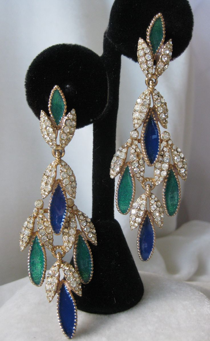 372 best Ciner Jewelry images on Pinterest   Antique jewelry ...
