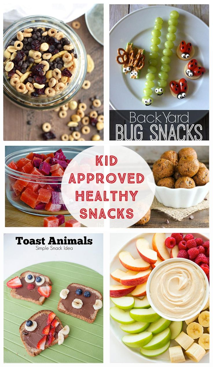 Kid Approved Healthy Snacks - Fruit Dip, Vegetables, Trail Mix, Energy Bites…