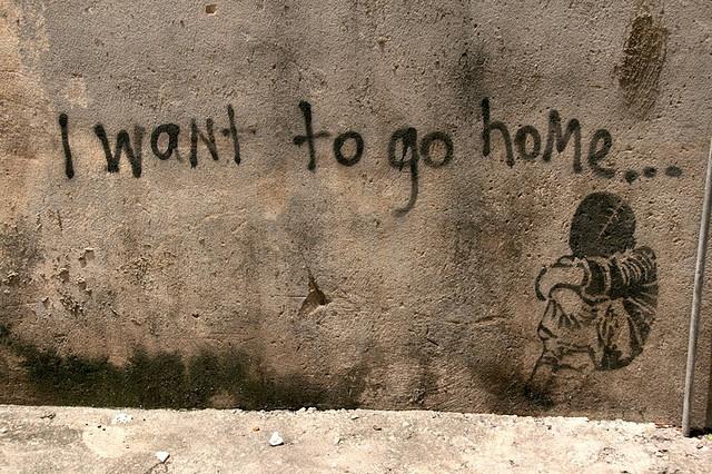 I WANT TO GO HOME... by szen_volta, via Flickr