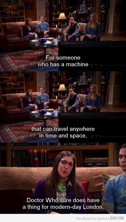 I don't really like the Big Bang Theory but this is hilarious!