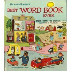 Richard Scarry books... I LOVED these!