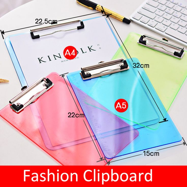 ==> [Free Shipping] Buy Best A4 plastic candy colorful desk card papers writing document file mat drawing folder clip board clipboard school office gifts Online with LOWEST Price | 32815091385
