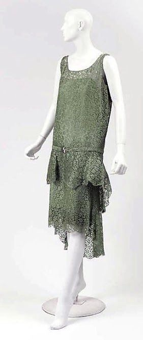 Chanel Dress - 1927-28 - House of Chanel - Design by Gabrielle 'Coco' Chanel - Silk, glass, leather - The Metropolitan Museum of Art