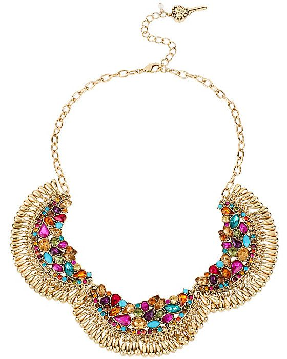 CARNIVAL SHAKY 3 PC NECKLACE MULTI accessories jewelry necklaces fashion