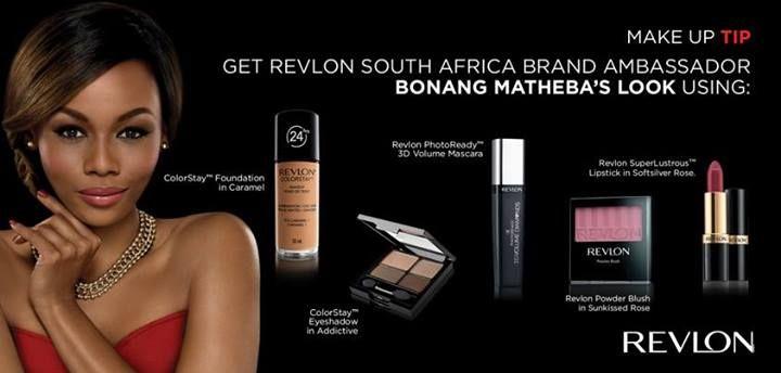 How to get Revlon South Africa Brand Ambassador Bonang Matheba's #makeup look