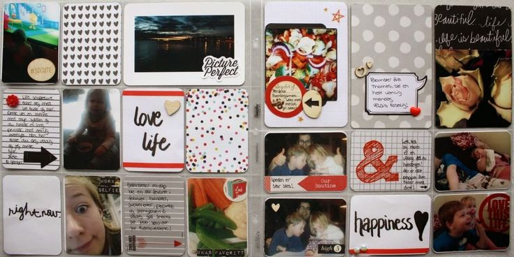Project Life pages created by Dt Stine.