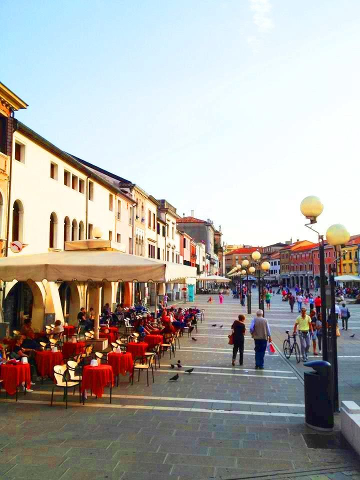 Piazza Ferretto Mestre, Venice. Photo by Odit Reyes