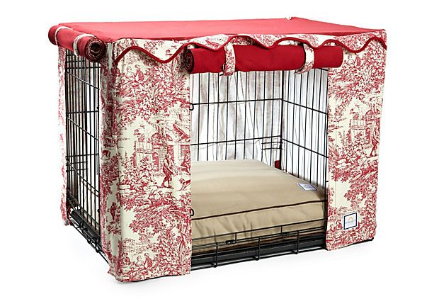 Diy No Sew Dog Crate Cover Woodworking Projects Amp Plans