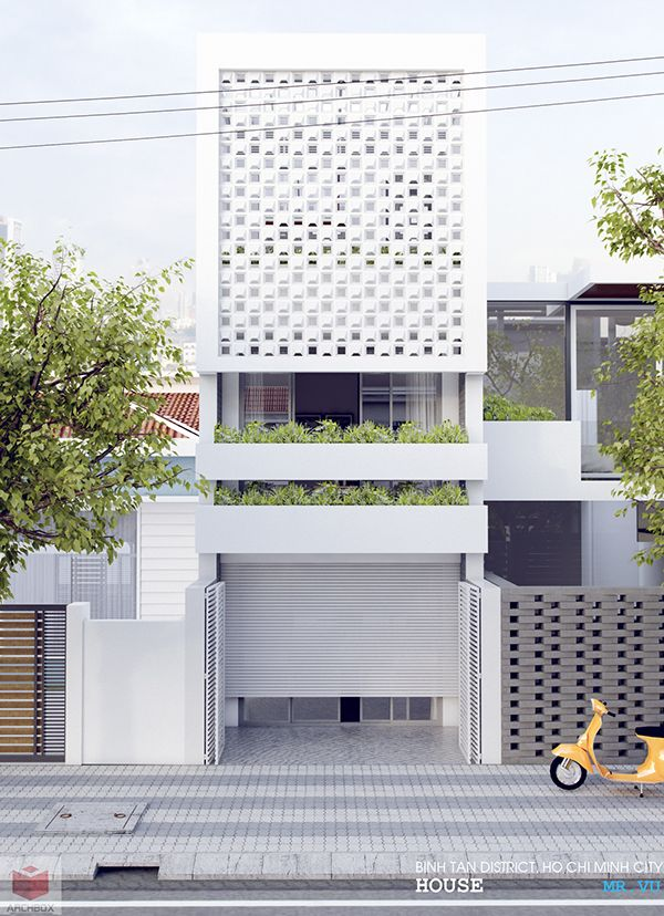 house mrvulocal ho chi minh city vietnamsketchup2016 vray2 - Minimalistic House Design