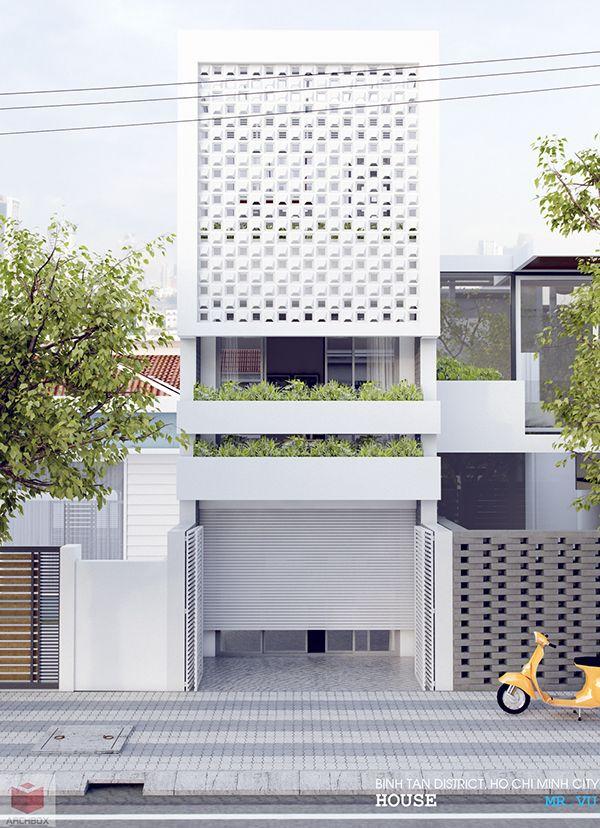 HOUSE- MR.VULocal: Ho Chi Minh, City, Vietnam.Sketchup2016  Vray2.0  PhotoshopCC
