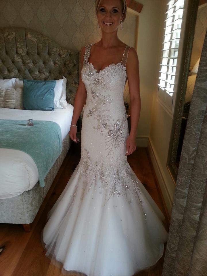 Monique's Wedding Dress  (co-designed; Werner Dey Couture)