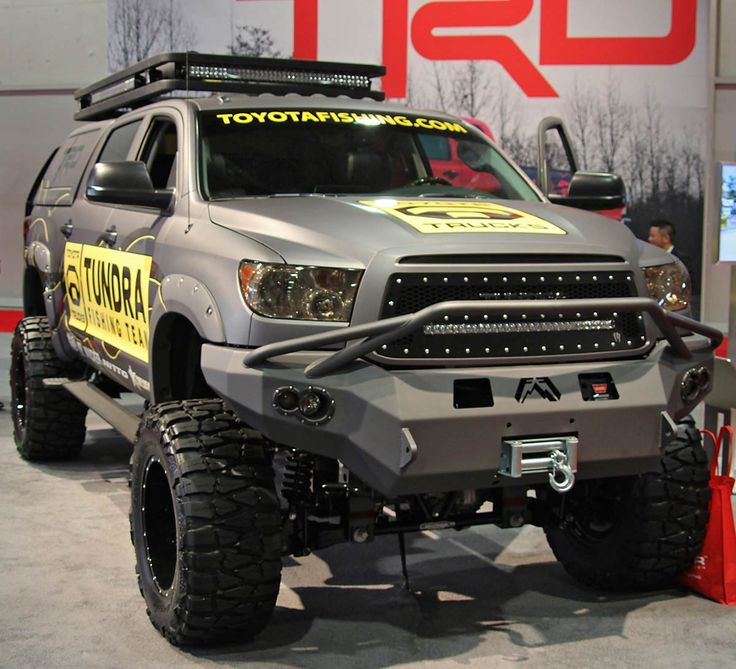 Toyota Trd For Sale: Toyota Tundra TRD Fishing Team Build