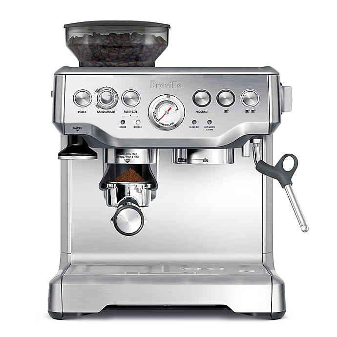 Breville The Barista Express Espresso Machine Best Home Espresso Machine Breville Espresso Machine Home Espresso Machine