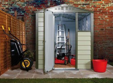 8 best Abri de jardin métallique images on Pinterest | Sheds, Arrow ...