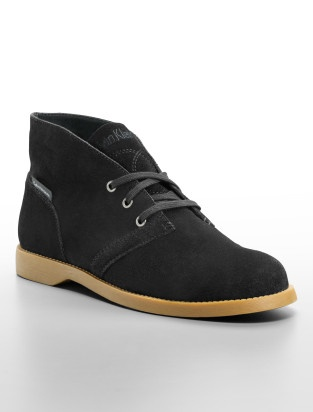 calvin klein jeans donna suede lace-up oxford shoe - Shoes- Calvin Klein