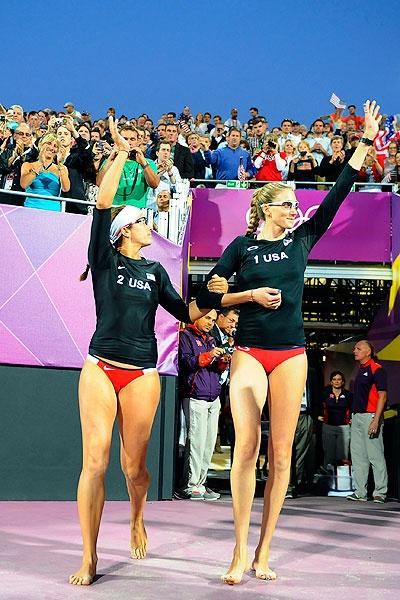 USA Women's Beach Volleyball Players ; Misty May-Treanor & Kerri Walsh Jennings!