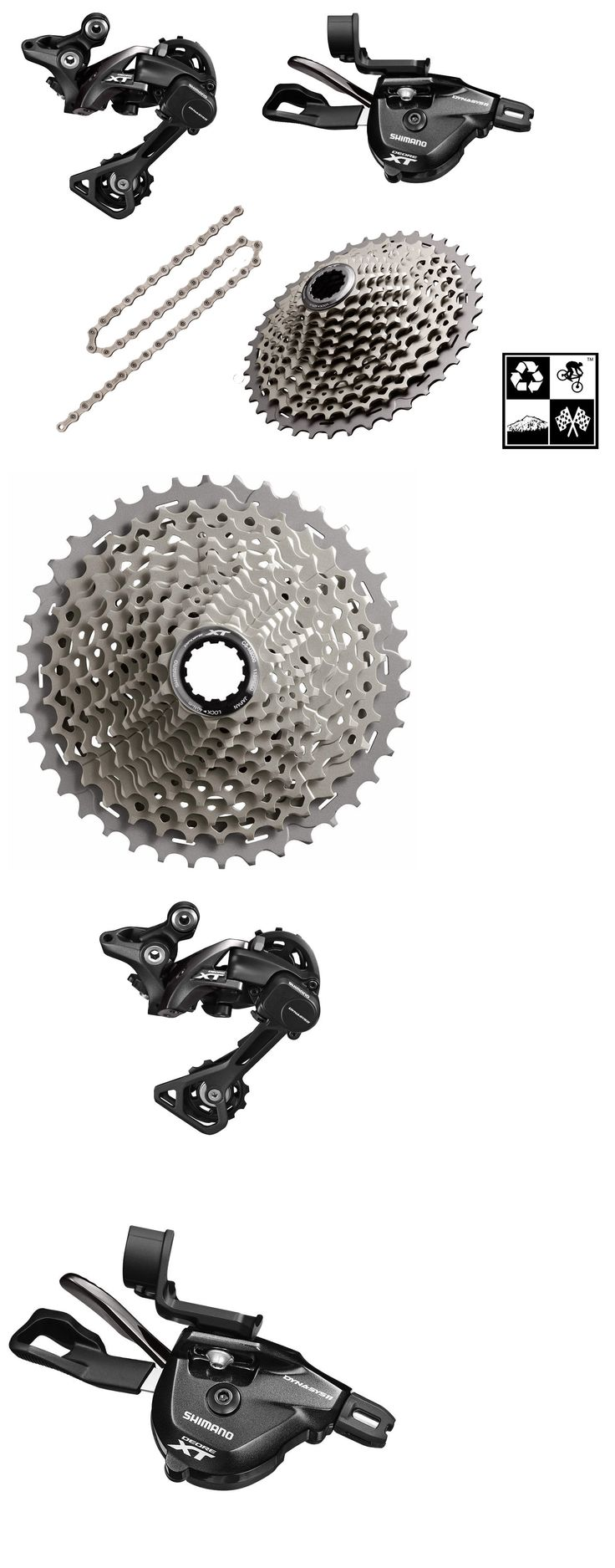 Build Kits and Gruppos 109120: Shimano Deore Xt M8000 Mini Group 1X11 11-46T Medium-Cage (I-Spec Ii Mount) -> BUY IT NOW ONLY: $246 on eBay!
