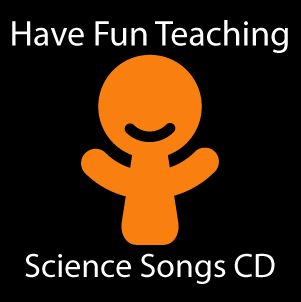 Science Songs CD  The Science Songs CD by Have Fun Teaching is a fun and engaging way for kids to learn science! This CD includes 13 educational songs for teaching and learning science, health, space, animals, matter, seasons, weather, and more!  Listen to These Songs Before You Buy - Click Here      Price: $12.00