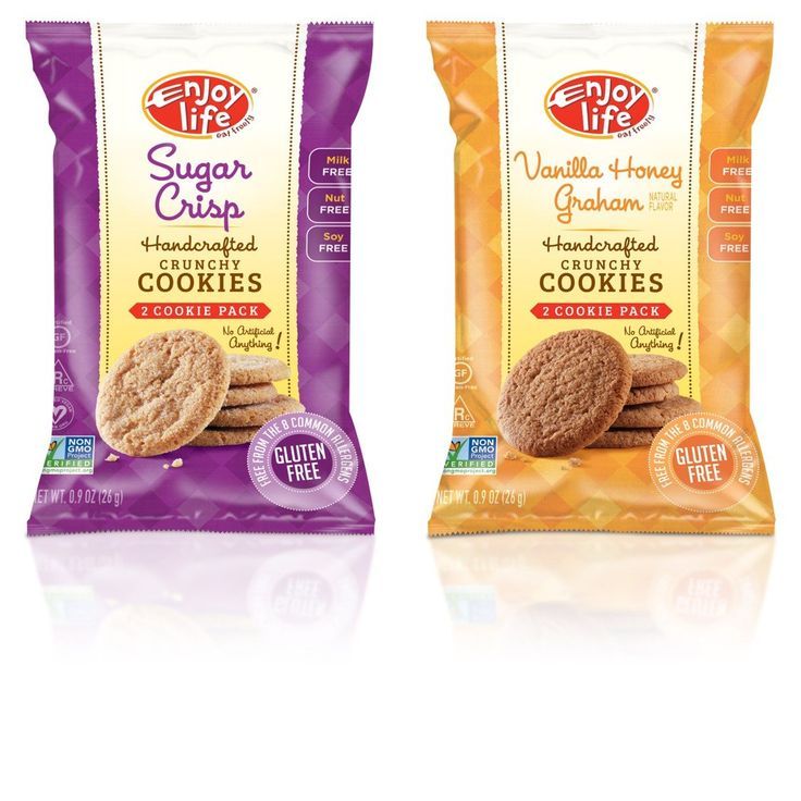 Enjoy Life Crunchy Cookie Snack Pack GlutenFree DairyFree NutFree and SoyFree Variety Pack Sugar Crisp/Vanilla Honey Graham 0.9 Ounce Bag Pack of 24 ** Details can be found by clicking on the image. (This is an affiliate link) #ChocolateChipCookiesIdeas