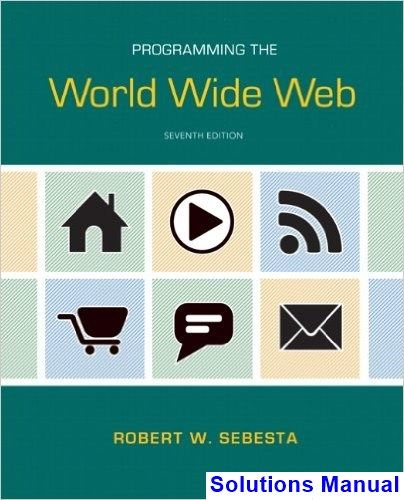 49 best solution manual download images on pinterest author solutions manual for programming the world wide web 7th edition by sebesta fandeluxe Image collections