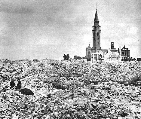 Warsaw, January 1945