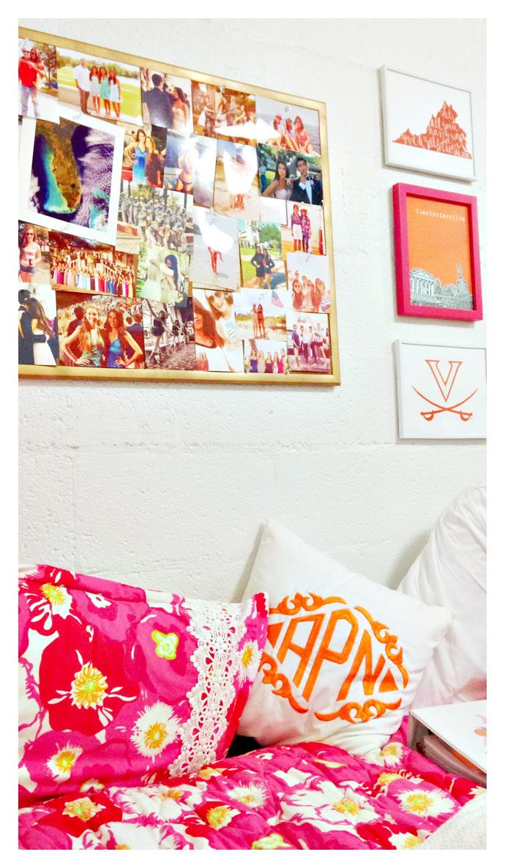 prepofthesouth: dorm room cozy