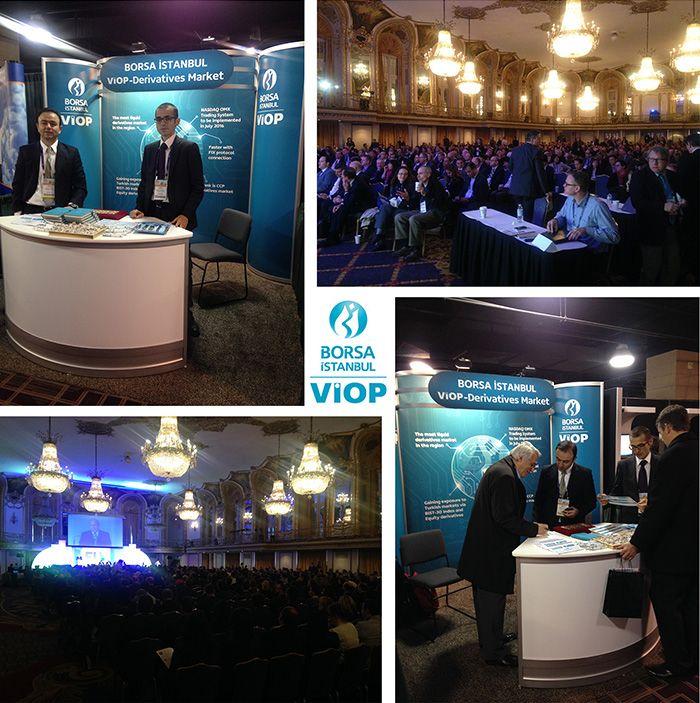Borsa İstanbul VİOP, Chicago kentinde 4-6 Kasım 2014 tarihleri arasında düzenlenen FIA Expo 2014 Fuarı'na katıl