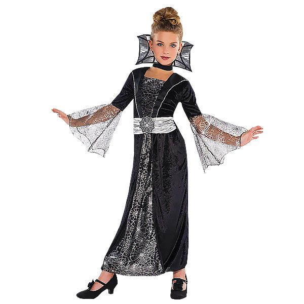 great value girls vampire costume from party delights halloween fancy dress - Halloween Costumes Vampire For Girls