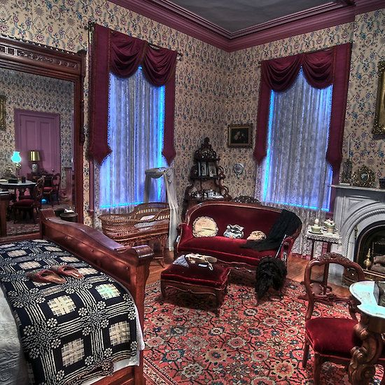 13 best set design stuff for dracula images on pinterest for Folk victorian interior