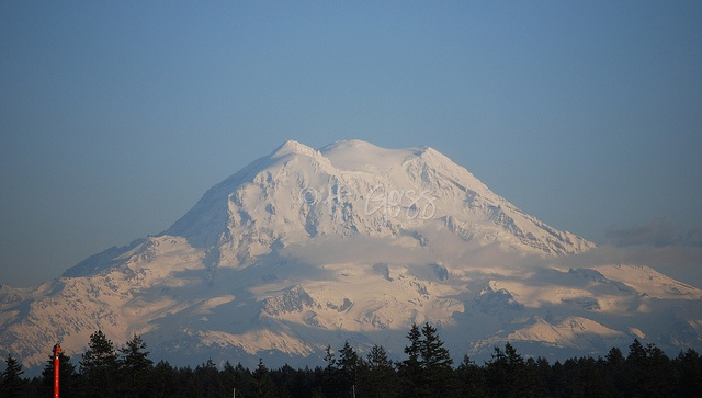 Things I loved about being stationed at Fort Lewis...  Mt. Rainer on a sunny day  This is my (Goss Family) picture