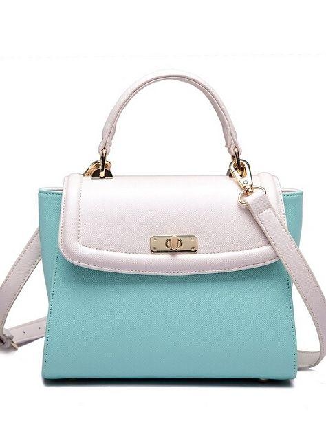 Ladies Style Single Handle Patchwork Cross Body Bags