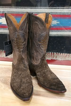 Rare Hippo Hide Exotic Boots | Boot heaven | Pinterest ...